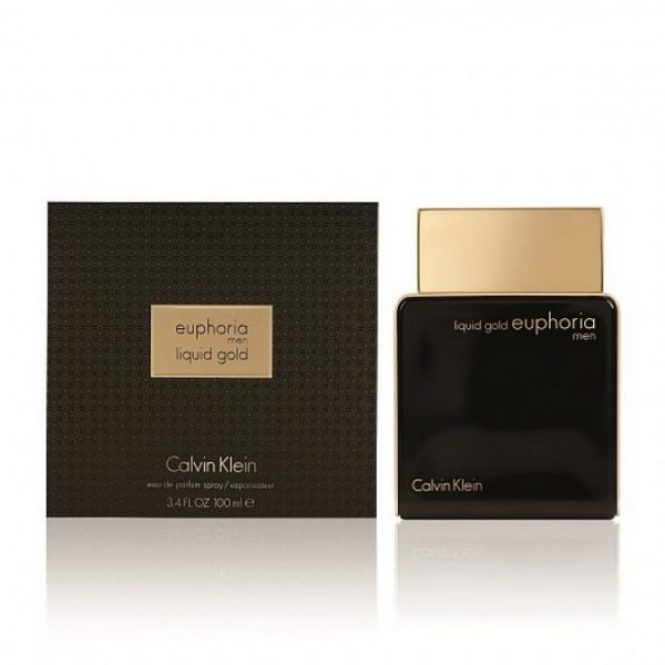 CALVIN KLEIN EUPHORIA MEN LIQUID GOLD
