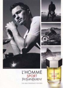 Спортивный аромат для мужчин Yves Saint Laurent L`Homme Sport