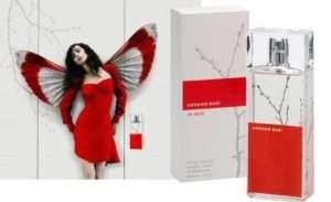 Знаменитый бренд элитной парфюмерии – туалетная вода для женщин Armand Basi In Red