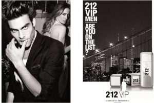 Описание CAROLINA HERRERA 212 VIP MEN