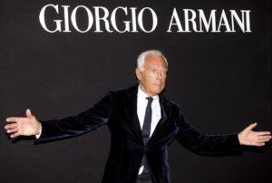 Мир Giorgio Armani