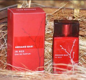 Популярность духов Armand Basi In Red