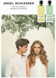 Создание парфюмерии Angel Schlesser