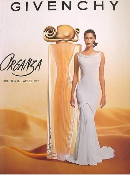 Духи Givenchy Organza винтажный аромат от Живанши