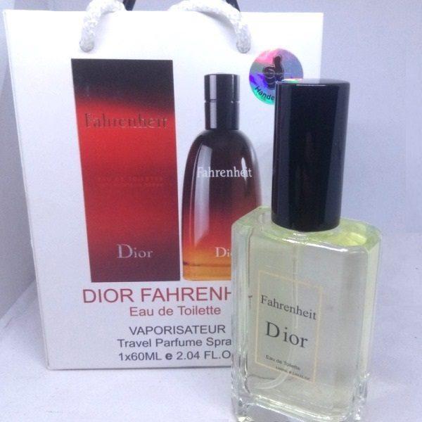 Мужские мини духи в подарочной упаковке Christian Dior Fahrenheit 60 ml