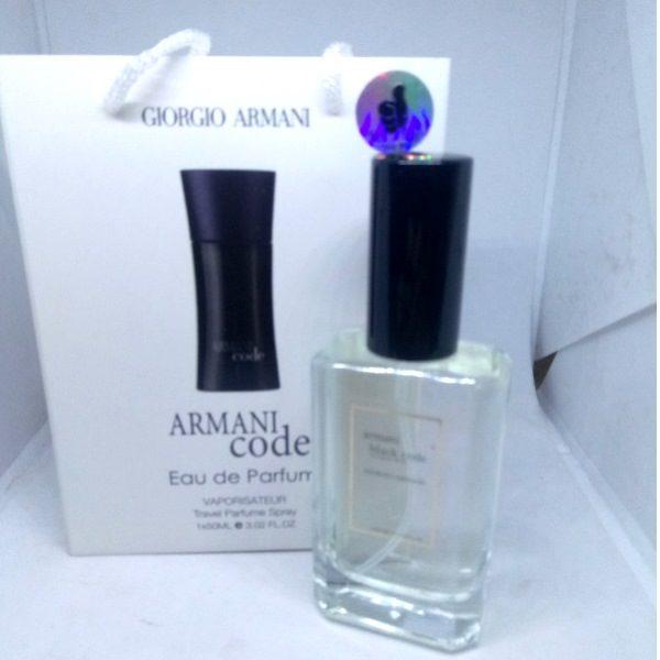 Мужские мини духи в подарочной упаковке Giorgio Armani Code 50 ml
