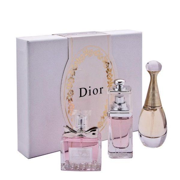 Подарочный набор Dior 3 парфюма по 30 мл