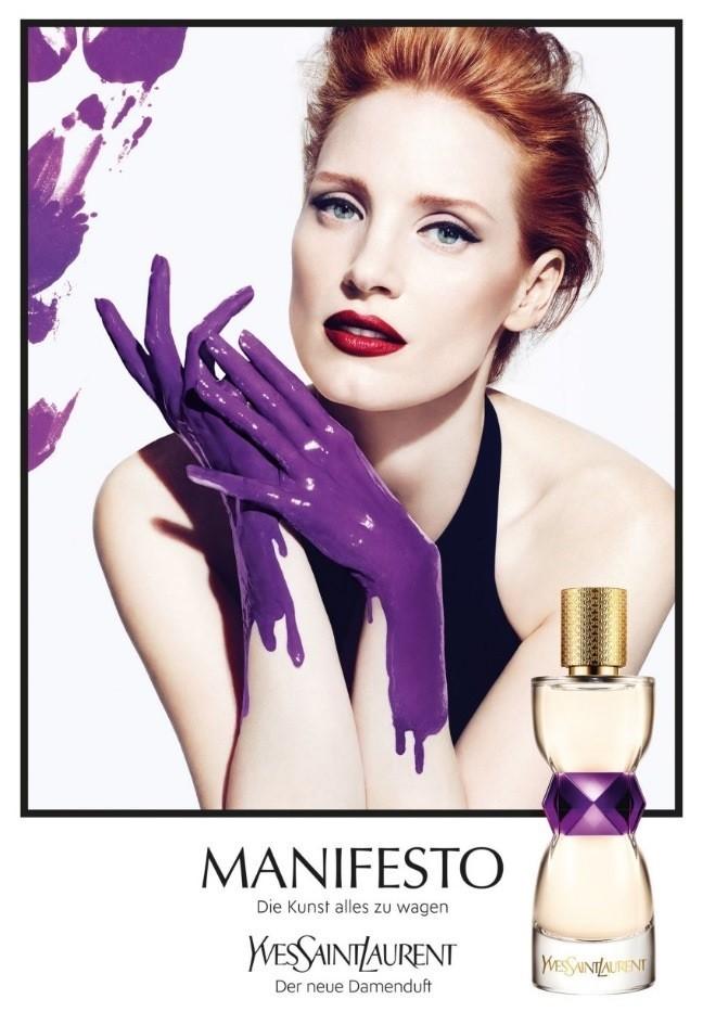 Женские духи Yves Saint Laurent Manifesto – символ страстной женщины