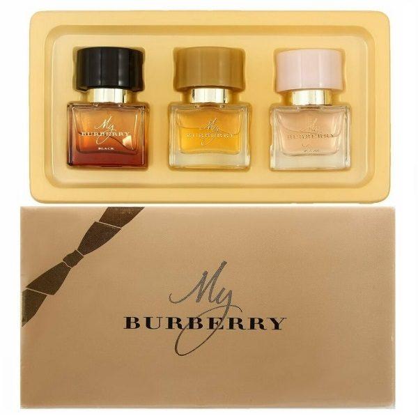 Женский подарочный набор парфюм Burberry 3шт по 25 мл