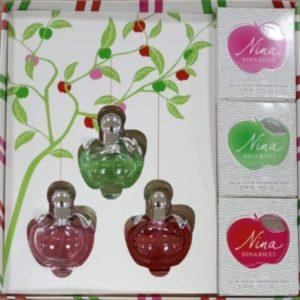 Подарочный набор Nina Ricci 3 парфюма по 30 ml